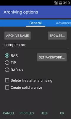 تحميل تطبيق RAR for Android لفك و تخفيف ضغط الملفات للاجهزة الاندرويد النسخة المدفوعة برابط مباشر سريع مجانا .