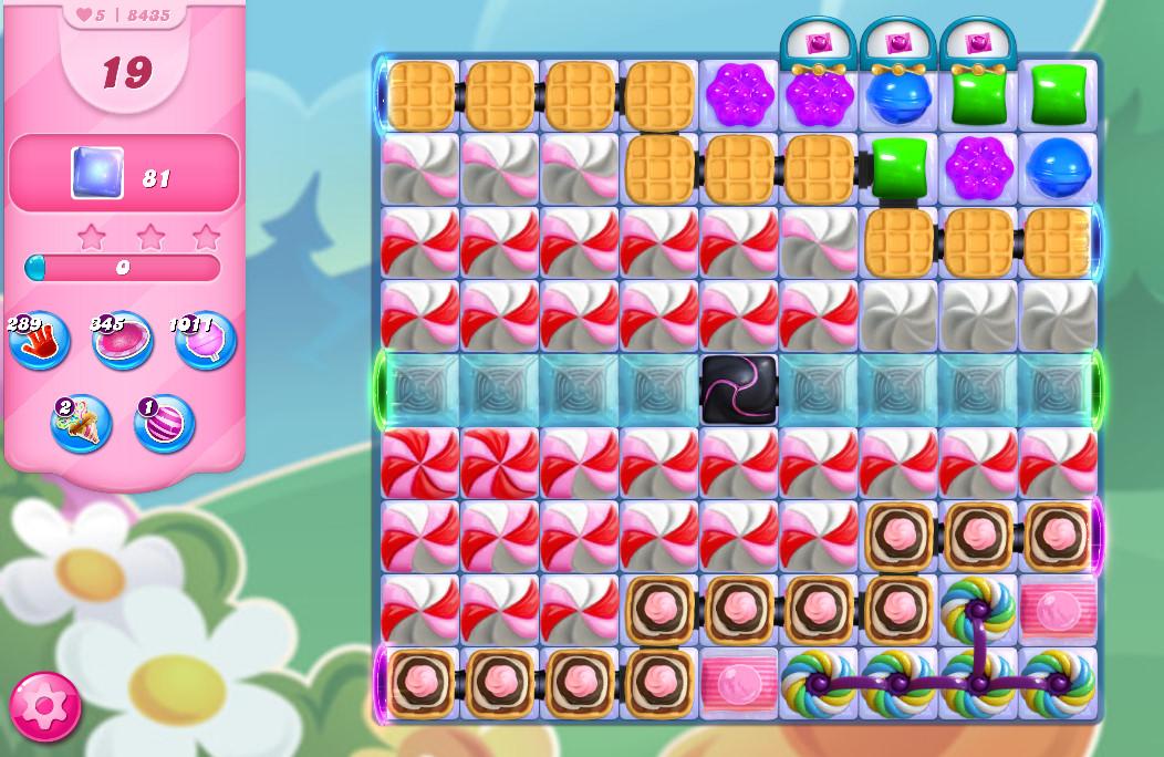Candy Crush Saga level 8435