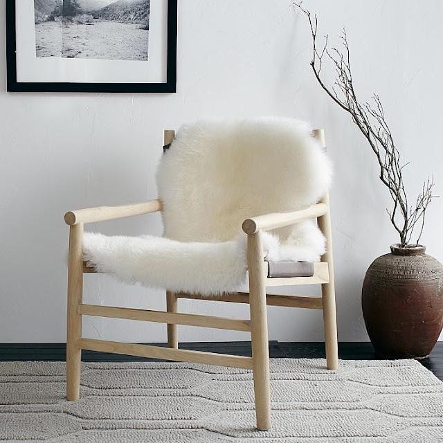 Kursi Kayu Minimalis Elegan Warna Putih