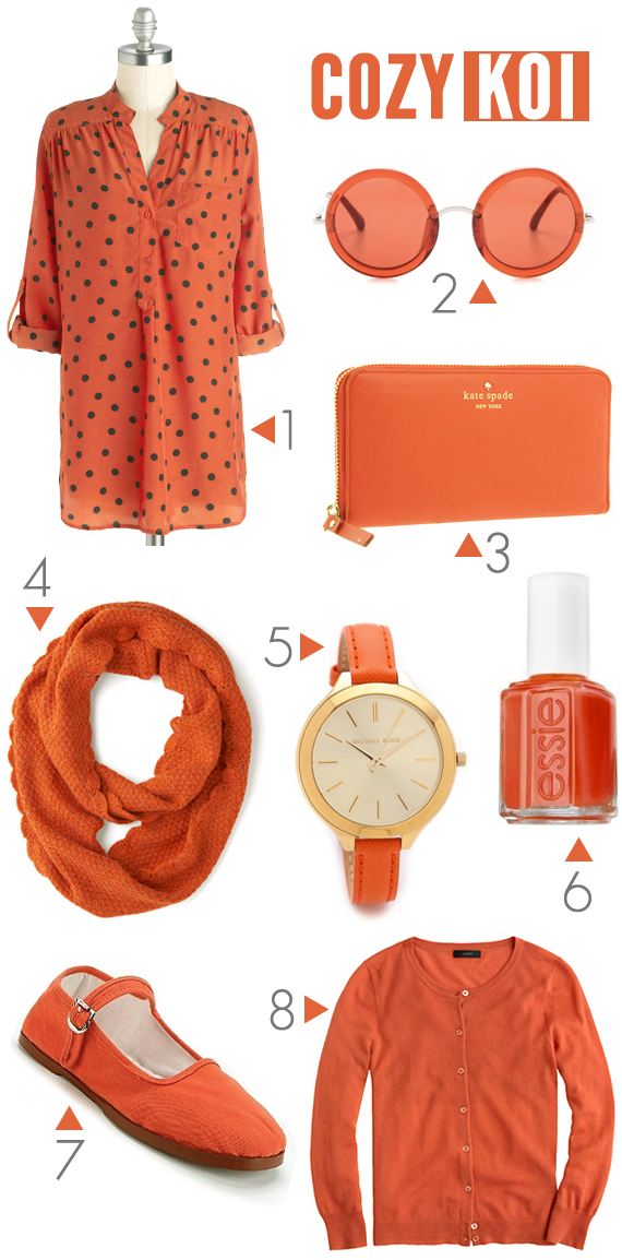 Pantone's Koi for Fall 2013 // Bubby and Bean