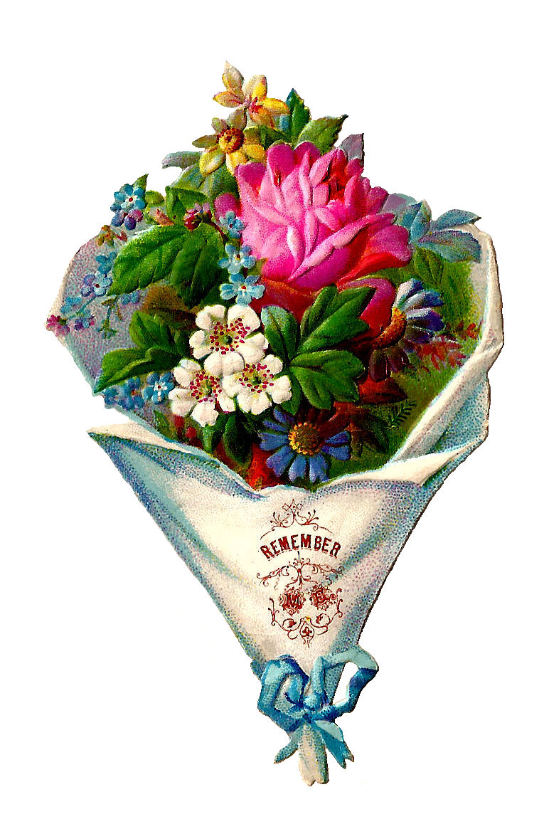 free clipart bouquet of flowers - photo #15