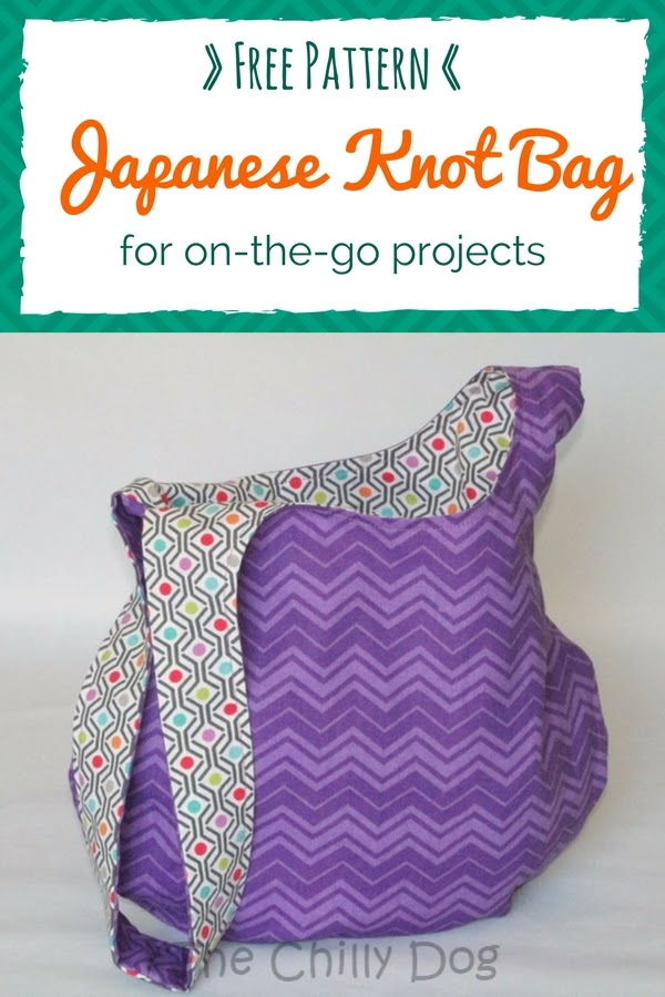 Sewing Pattern Japanese Knot Bag The Chilly Dog