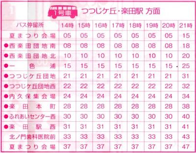 シャトルバス時刻表-1