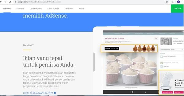 tips agar blog di terima google adsense