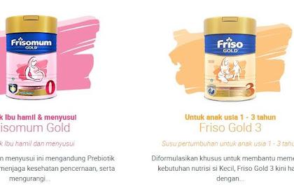 Kenali 3 Varian Produk Susu Friso untuk Kesehatan Ibu dan Pertumbuhan Anak