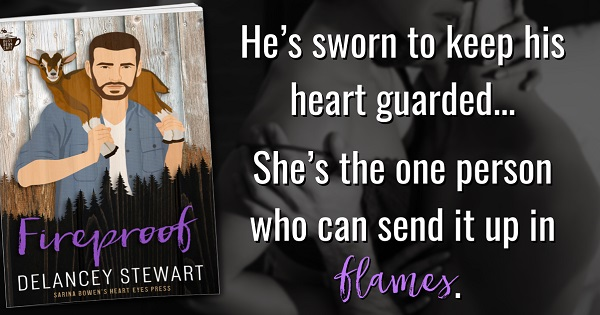 He's sworn to keep his heart guarded… She's the one person who can send it up in flames.