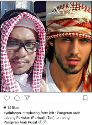 15 Meme 'Pangeran Arab Challenge' Ini Bikin Ngakak Sampai Keselek