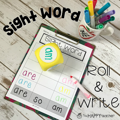 Fun activity to practice sight words in centers... FREE
