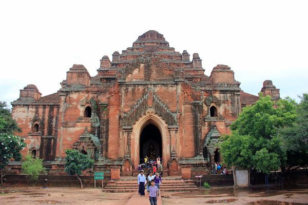 Templo Dhammayan Gyi en Bagan