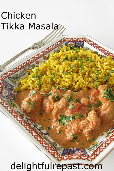 Chicken Tikka Masala / www.delightfulrepast.com