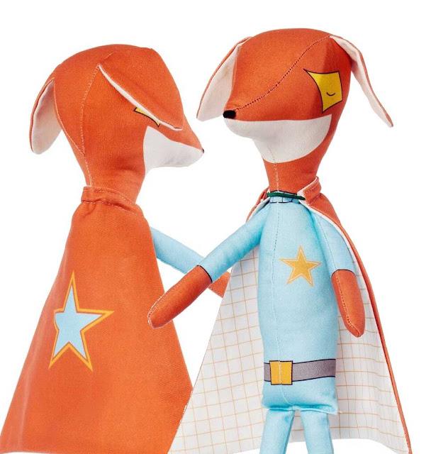 pani pieska soft fox doll