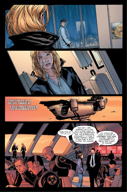 Susan Storm (Invisible Woman) comes back to Reed Richards.