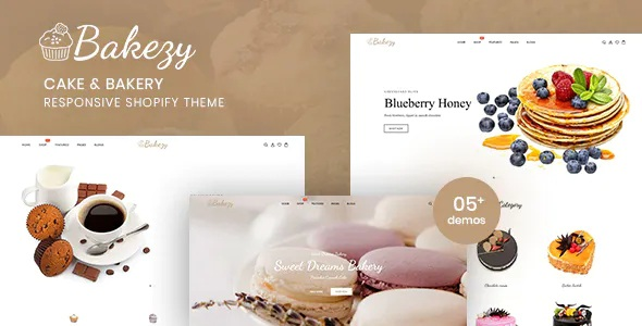 Best Cake & Bakery Responsive Shopify Theme