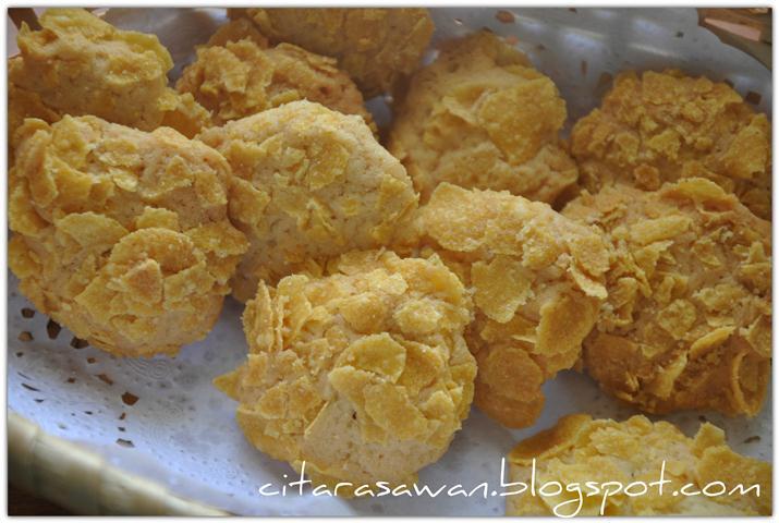 Biskut Cornflakes Mudah ~ Resepi Terbaik