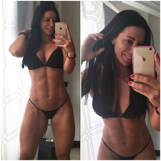 Ana Cozar likes to show its spectacular physicist who has achieved thanks to fitness.
