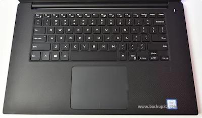 لوحة المفاتيح ولوحة اللمس XPS 15 - 9550