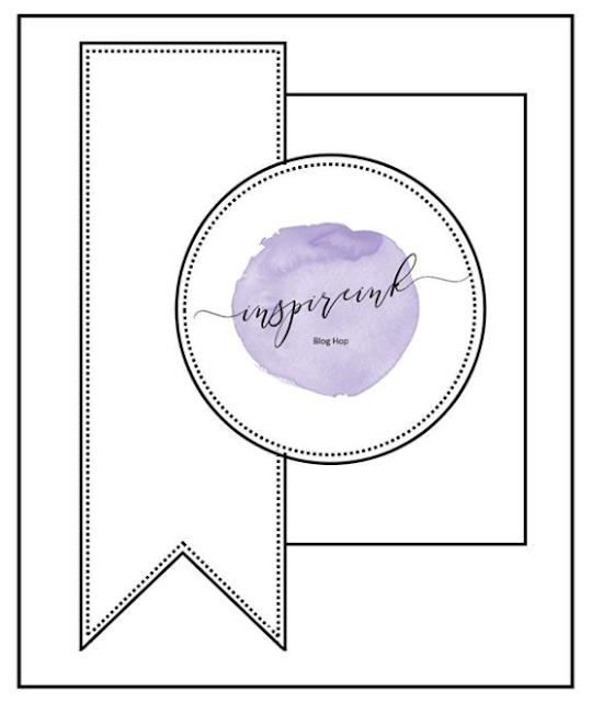 InspireINK June Blog Hop: Card Sketch