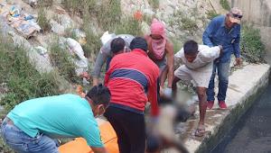 Warga Terkejut Ada Sosok Mayat Pria Tanpa Identitas Diri Terapung di Alur Sungai Belawan