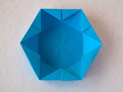 foto 3 Origami Hexagonal Box by Francesco Guarnieri