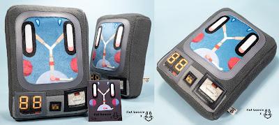 """Mini Plush Capacitor"" Back to the Future Plush by Flat Bonnie x Nathan Hamill"