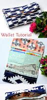 Wallet sewing DIY Tutorial