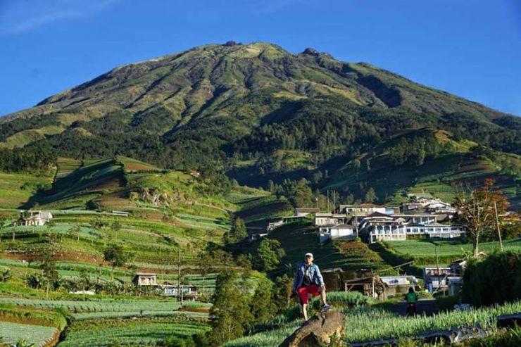 Panorama Wisata Di Magelang Lereng Gunung Sumbing