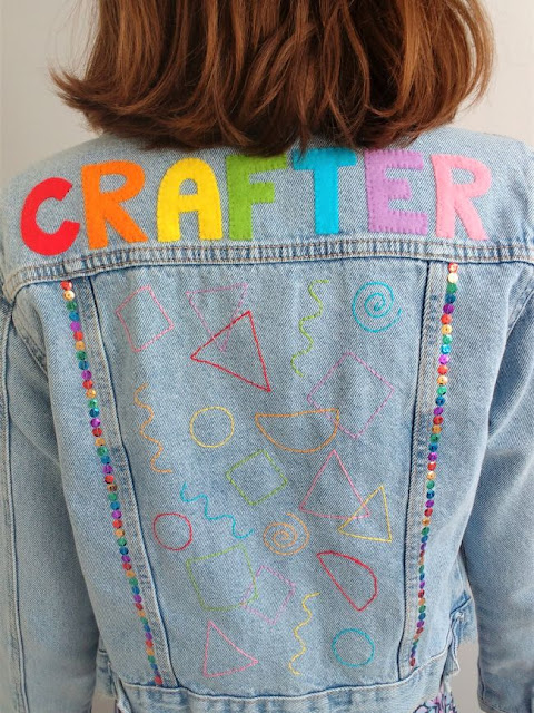 DIY Denim Jacket Tutorial