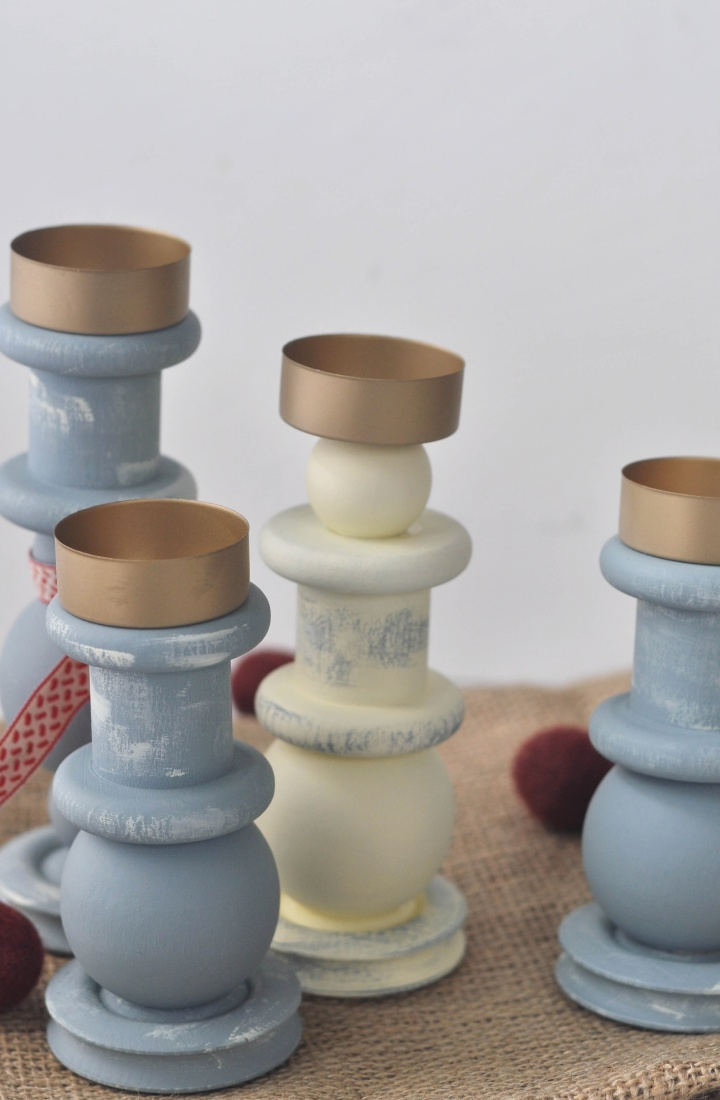 easy-peasy DIY Candle Holder, a great gift for christmas and cute decoration