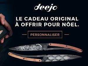 Les couteaux personnalisés Deejo