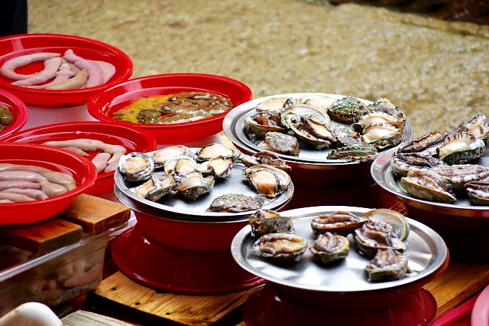 Tongyeong's fish markets