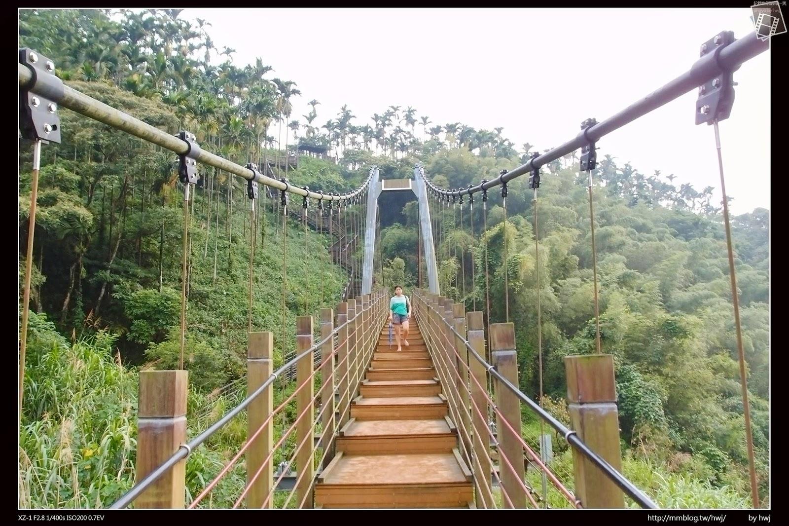 簡單平實的生活: 2014-08-17 雲林古坑華山-小天梯情人橋