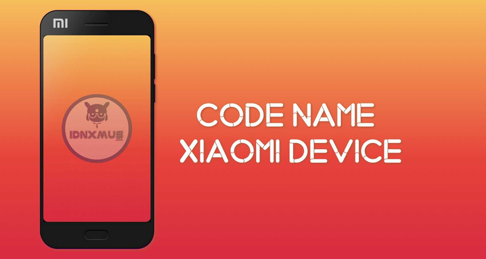 Code Name Xiaomi