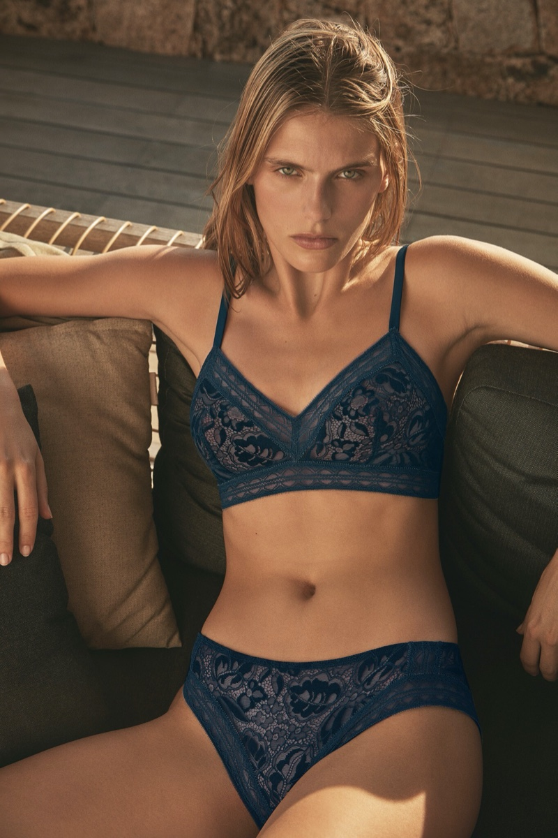 Eres features lace lingerie in spring-summer 2020 campaign