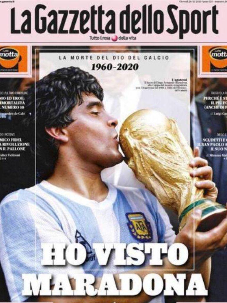 https://www.notasrosas.com/Muerte de Maradona genera reacciones en diarios y revistas del mundo