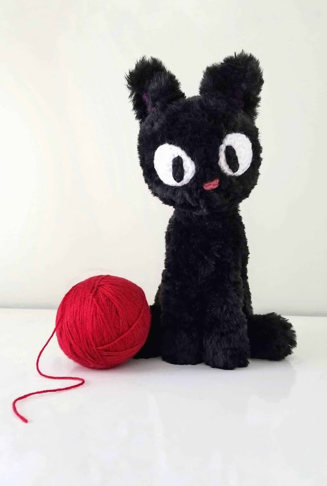 Jiji Black Cat Amigurumi Crochet Pattern