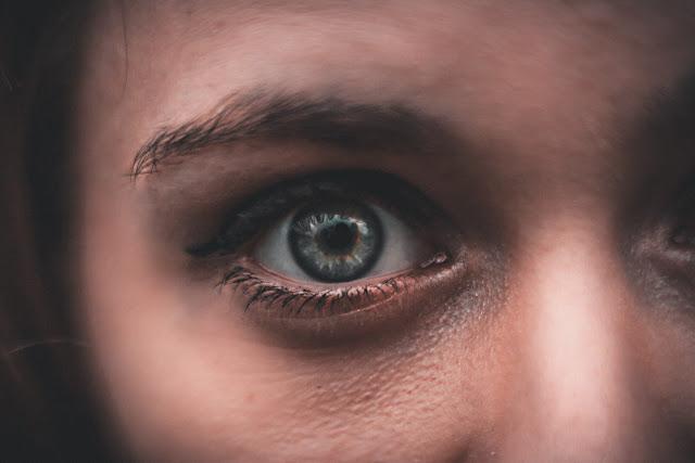 occhi, ragazza, sguardo, occhi verdi,