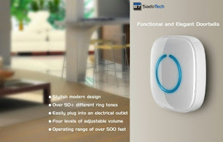 SadoTech Model C Doorbell Buy Online At Amazon