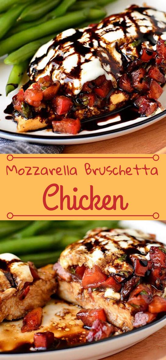 Mozzarella Bruschetta Chicken #appetizers #snacks #creamcheese #wontons #lunch