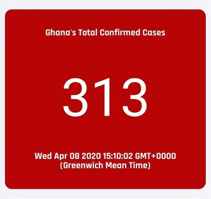 COVID-19 : Ghana cases hit 313 as another person dies