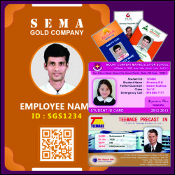 Employee ID Cards, Stydent ID Cards, Exhibition ID Cards, Temporary ID Cards