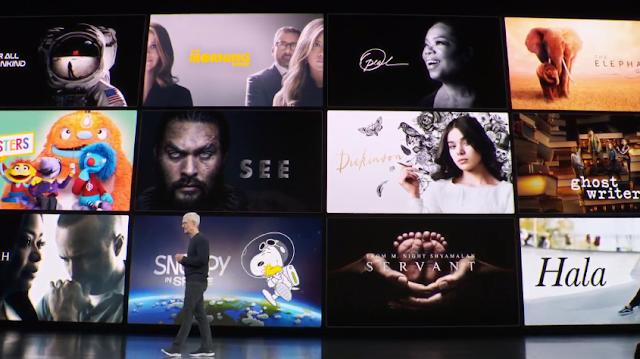 آبل تطلق خدمة +Apple TV في 1 نوفمبر مقابل 4.99 دولار في الشهر