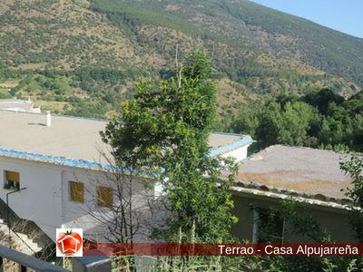El Terrao es la cubierta utilizado como secador en las Casas Alpujarreñas