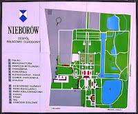 Plan zespołu pałacowo - ogrodowego