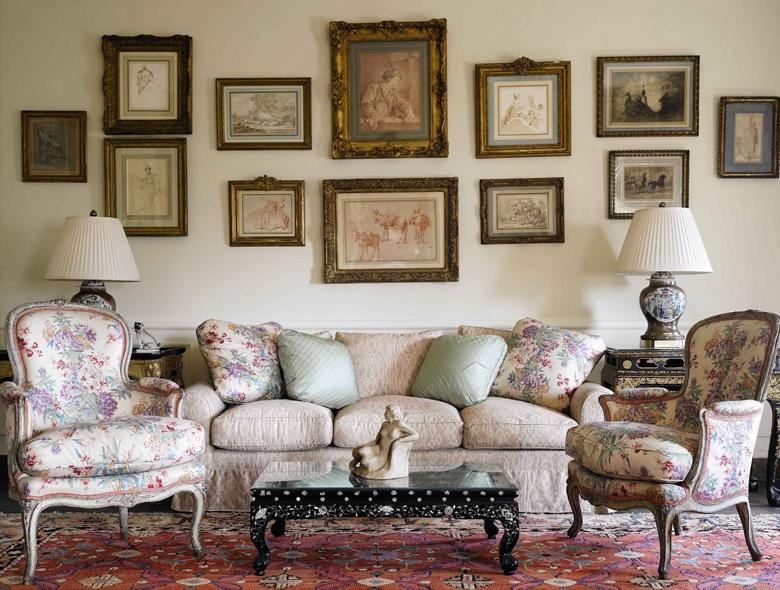 English Country style - piękne ponadczasowe wnętrza angielskich rezydencji.