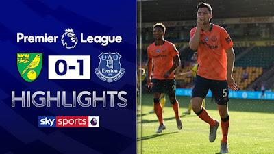 Video  Norwich City 0-1 Everton: Vòng 31, Ngoại Hạng Anh