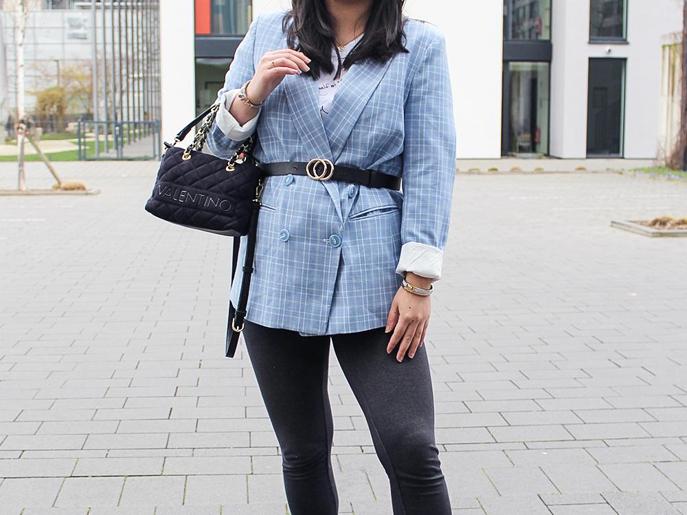 Blauer Blazer Kleiderkreisel H&M