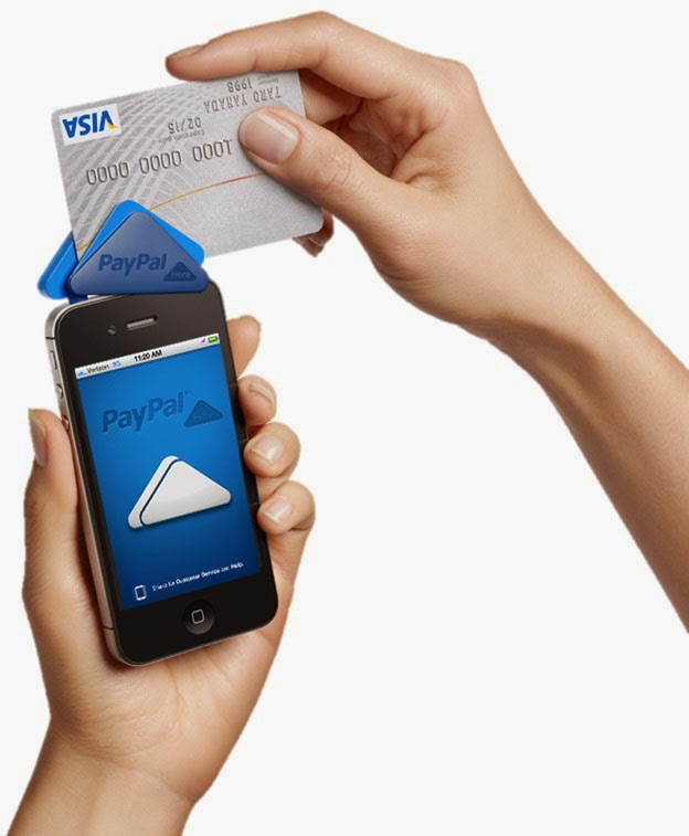 credit card swiper for iphone zentechnews paypal mobile credit card reader swiper for 16844