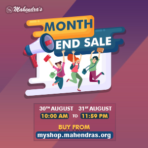 Mahendras Month End Sale !!