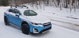 Subaru Crosstrek Hybrid Ski