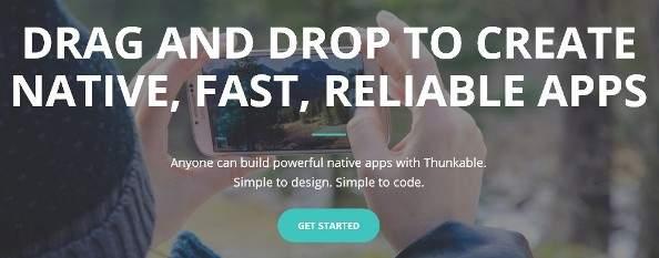 progettazione e creazione app gratis x Android e iOS tramite browser